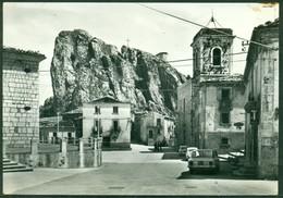 CARTOLINA - CV1823 PIZZOFERRATO (Chieti CH) Piazza S. Rocco E Pizzo,  Viaggiata 1970, Ottime Condizioni - Chieti