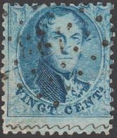 COB N° 15 - Médaillon Dentelé + Variété - 1863-1864 Médaillons (13/16)