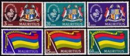 Mauritius ,1968, 313/18, Unabhängigkeit.. MNH ** - Mauritius (1968-...)