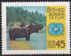Sri Lanca, Ceylon, 1967, 363, Tourismus, Elefant. MNH ** - Sri Lanka (Ceylon) (1948-...)