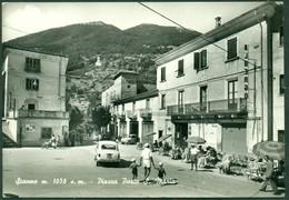 CARTOLINA - CV1813 SCANNO (Aquila AQ) Piazza Porta S.Maria, Non Viaggiata, Ottime Condizioni - L'Aquila