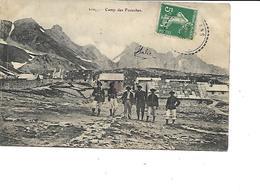 06-SAINT-DALMAS-le-SELVAGE-Une Vue Du * Camp Des FOURCHES*-Militaires Chasseurs Alpins - Autres Communes