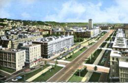 N°70098 -cpsm Le Havre -l'avenue Foch- - Le Havre