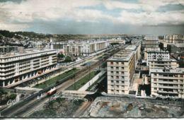 N°70100 -cpsm Le Havre -vue Panoramique Vers L'avenue Foch- - Le Havre