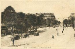 N°70101 -cpa Le Havre -le Boulevard Foch- - Le Havre