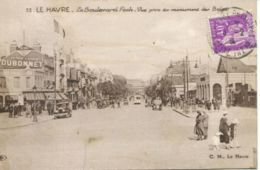 N°70102 -cpa Le Havre -le Boulevard Foch- - Le Havre