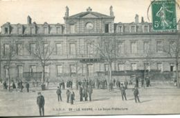 N°70107 -cpa Le Havre -la Sous Préfecture- - Le Havre