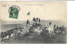 06-SAINT-DALMAS-le-SELVAGE-* Camp Des FOURCHES*-Militaires Chasseurs Alpins-Un POSTE D'OPTIQUE - Autres Communes