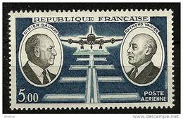 "FR Aerien YT 46 (PA) "" Didier Daurat-Raymond Vanier "" 1971 Neuf** - Poste Aérienne"