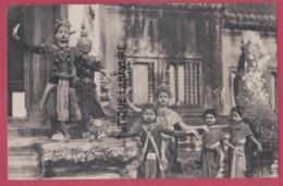 ASIE---CAMBODGE--PHNOM-PENH---Danseuses Royales---cpsm Pf - Cambodia