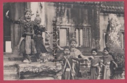 ASIE---CAMBODGE--PHNOM-PENH---Danseuses Royales---cpsm Pf - Cambodge