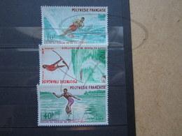 VEND BEAUX TIMBRES DE POLYNESIE N° 86 - 88 , XX !!! - Neufs