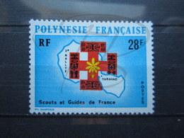 VEND BEAU TIMBRE DE POLYNESIE N° 91 , XX !!! - Polynésie Française