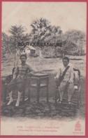 ASIE---CAMBODGE--PHNOM-PENH---Princesse Et Prince Cambodgiens--animé - Cambodge