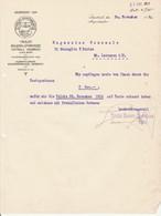 LETTERA Su Carta Intestata Tedesca TIROLER BAUERN SPARKASSE Innsbruk Anno 1916 - Azioni & Titoli