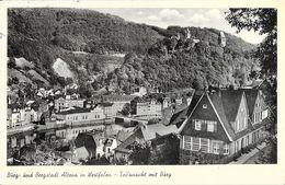 Burg Und Bergstadt Altena In Westfalen - Teilansicht Mit Burg - Altena
