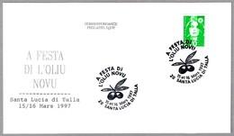 FIESTA DEL NUEVO ACEITE DE OLIVA - Fest Of The New Olive Oil. Santa Lucia Di Talla 1997 - Alimentación