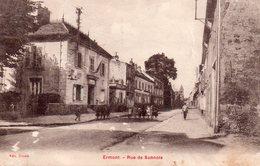 CPA, Ermont, Rue De Sannois, Animée - Ermont