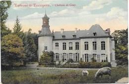 Gouy NA3: Environs De Trazegnies. Château De Gouy 1909 - Courcelles