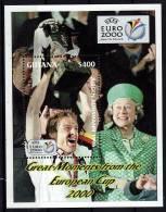GUYANE   BF 371 * *  ( Cote 10e )  Euro 2000    Football  Soccer  Fussball - Championnat D'Europe (UEFA)