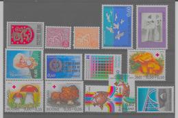 FINLANDE - 1974 -  Y Et T  N°708 à 710, 712 à 721, 723 Tous**, (M N H) - T. Trés BEAU - Des Séries Complétes - Finlande