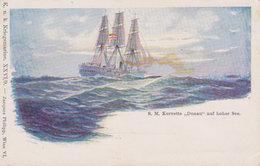 """K: U. K. Kriegsmarine  S.M. Korvette """"Donau"""" - Weltkrieg 1914-18"""