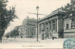 N°70113 -cpa Le Havre -palais De Justice- - Le Havre