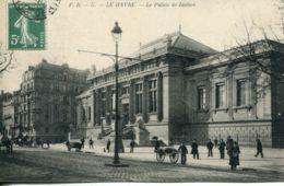 N°70115 -cpa Le Havre -palais De Justice- - Le Havre