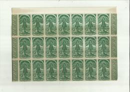 """- **35 X Vignette Of  Sluitzegel**""""SCHERPENHEUVEL -/ MONTAIGU - """"""""  1872- 1947 - Erinnophilie"""