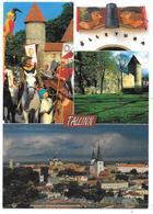 TALLINN - Multiview - Multivues - Vanalinn Old Town - 1996 - Estonie