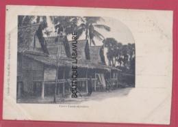 ASIE---CAMBODGE--Cases---precurseur - Cambodia