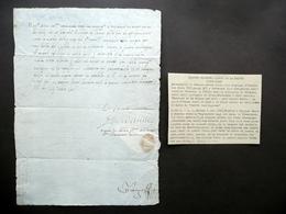 Autografo Jacques De Chabanes Signore Di La Palice Maresciallo Francia 1508 - Autographes