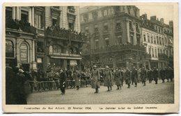 CPA - Carte Postale - Belgique - Funérailles Du Roi Albert, 22 Février 1934  ( DD7303) - Funérailles
