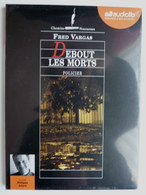 LIVRE AUDIO 1 CD AUDIOLIB DEBOUT LES MORTS - Fred VARGAS Neuf Sous Film - Sin Clasificación