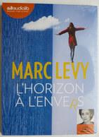 LIVRE AUDIO 1 CD AUDIOLIB L'HORIZON A L'ENVERS - Marc LEVY Neuf Sous Film - Musik & Instrumente