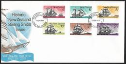 1975 - NEW ZEALAND - FDC + SG 1069/1074 + WANGANUI N.Z. - FDC