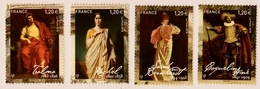 """2018   Timbres  """"Actrices-Acteurs""""  SERIE COMPLETE  Neufs** - France"""