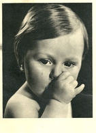 """2645 """" BAMBINO CON IL POLLICE IN BOCCA """" CART. POSTALE ORIGINALE NON SPEDITA - Portraits"""