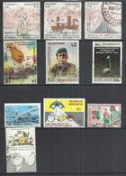 TEN AT A TIME - BANGLADESH - LOT OF 10 DIFFERENT COMMEMORATIVE 4  - USED OBLITERE GESTEMPELT USADO - Bangladesh