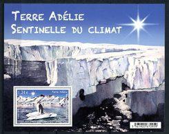 TAAF 2015 Bloc N° F753 ** ( 753 ) Neuf MNH Superbe Faune Oiseaux Manchots Adélie Climat Animaux - Neufs