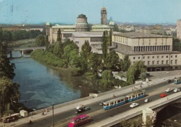 Tram/Strassenbahn München,Ludwigsbrücke Und Deutsches Museum 1979, Gelaufen - Tramways