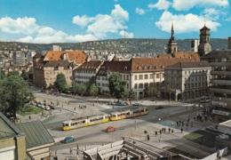 Tram/Strassenbahn Stuttgart,kleiner Schlossplatz, Ungelaufen - Tramways