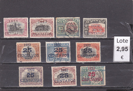 Guatemala  -  Lote 10  Sellos Diferentes Sobrecargados   -  2/873 - Guatemala