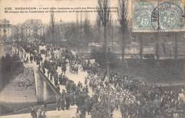 Besançon         25            Avril 1906 Cavalcade Au Profit Des Mineurs .La Musique      (Voir Scan) - Besancon