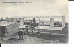 """Mondorf-les-Bains -Bad Mondorf """"Luxembourg""""- Semaine De L'Aviation - Aéroplane Voisin - J.M. Bellwald, Echternach-N°1057 - Mondorf-les-Bains"""