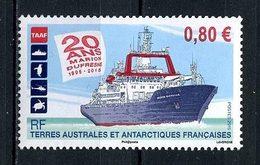 TAAF 2015 N° 751 ** Neuf MNH Superbe Transports Bateaux Navire Marion Dufresne Emblème - Neufs