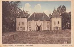 63 // AVEZE - LE CHATEAU DE CHAZELLES - EDITIONS COMBIER - Autres Communes