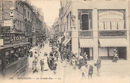 Besançon         25            Grande Rue. Tramway      (Voir Scan) - Besancon