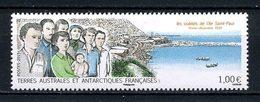 TAAF 2015 N° 750 ** Neuf MNH Superbe Les Oubliés île Saint Paul Hommes Femmr Bébé Bateaux - Neufs
