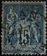 Sage N°90 Type Il O.(CAD) ORAN 7 Mai 1894. - 1876-1898 Sage (Type II)